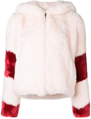 La Seine & Moi Lisa faux fur jacket