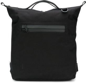 Ally Capellino Top Handle Zip Pocket Backpack
