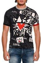 Dolce & Gabbana Royal Graffiti Cotton T-Shirt