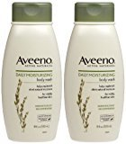 Aveeno Daily Moisturizing Body Wash, 2 Count