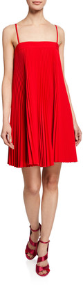 Milly Mila Sleeveless Pleated Dress