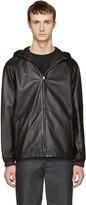 Loewe Reversible Black Lambskin Hooded Jacket