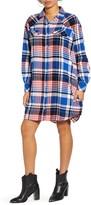 Wrangler Plaid Oversized Shirtdress
