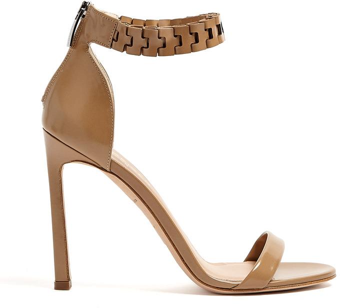 Kurt Geiger London Aneka Tan Calf Strappy Sandals