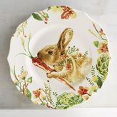 Pier 1 Imports Lilly the Bunny with Carrot Salad Plate