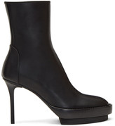 Ann Demeulemeester Black Stiletto Heeled Boots