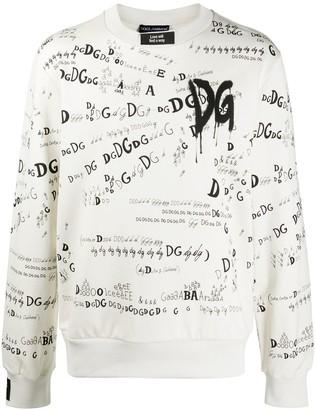 Dolce & Gabbana Carpe Diem print sweatshirt