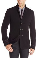 John Varvatos Men's Luxe Admiral Sweater Blazer