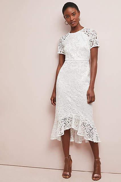 Shoshanna Edgecombe Lace Dress