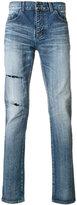 Saint Laurent distressed denim jeans