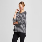 A New Day Women's Striped Cozy Knit Long Sleeve Top