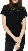Mint Velvet Victoriana Knit Jumper, Black