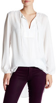 Joe Fresh Smocked Sleeve Blouse