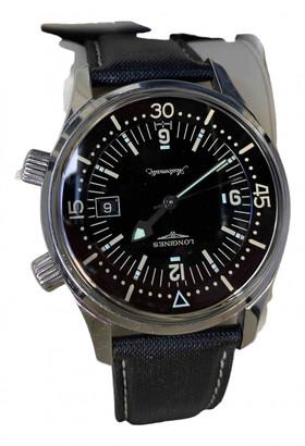 Longines Black Steel Watches