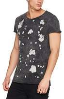 Tigha Men's Painted Stars Msn T-Shirt,XXL