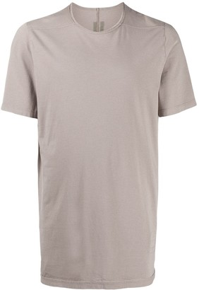Rick Owens Level seam-embellished cotton T-shirt