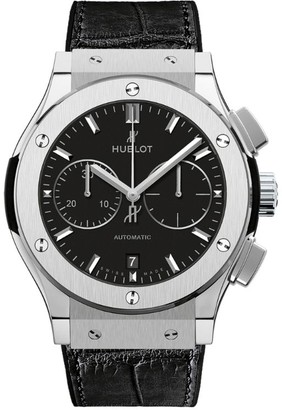 Hublot Classic Fusion 45mm Chronograph Titanium Watch