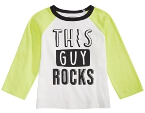 First Impressions Toddler Boys Rock-Print Cotton T-Shirt, Created For Macy's