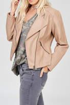 Wishlist Blush Leather Jacket