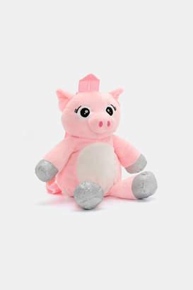 Ardene Plush Piggy Backpack