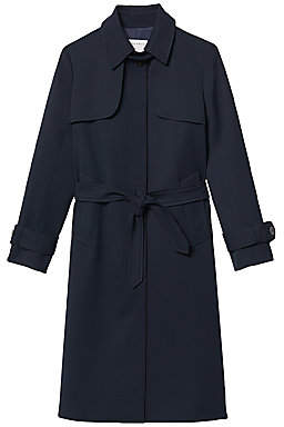 Sandro Women's Belted Trench Coat