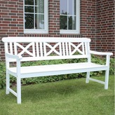 Santa Cruz 3 Seater Outdoor Timber Bench