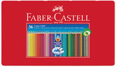 Faber-Castell Colour Grip 2001 Pencils - Tin of 36