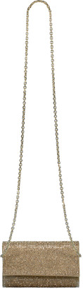 Judith Leiber Fizzy Champagne Crystal Clutch