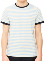 Farah Alley Short Sleeve T-Shirt Light Blue blue