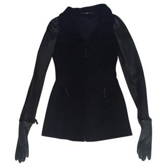 Gianfranco Ferre Black Wool Jackets