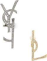 Saint Laurent monogram earring