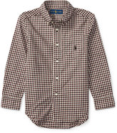 Ralph Lauren Poplin Shirt, Toddler Boys (2T-5T) & Little Boys (2-7)