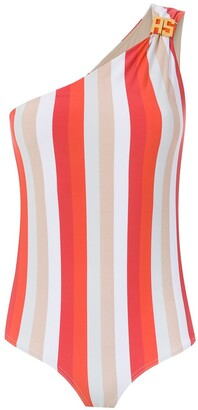 AMIR SLAMA One Shoulder Swimsuit