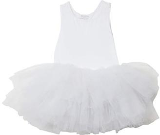 I Love Plum iloveplum B.A.E Tutu Dress (Infant/Toddler/Little Kids) (Lucy White 1) Girl's Skirt