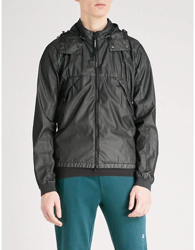 C.P. Company Goggle-embellished shell jacket