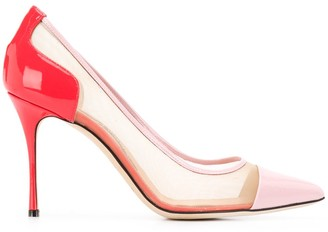 Sergio Rossi Godiva colour-block pumps