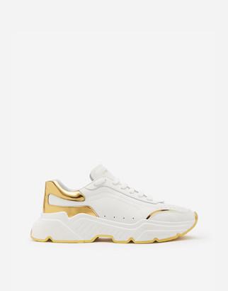 Dolce & Gabbana Daymaster Sneakers In Nappa Calfskin