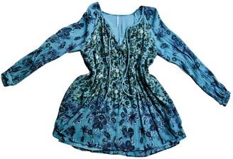 Free People Blue Cotton Dresses