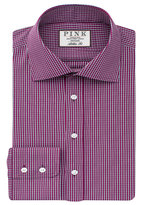 Thomas Pink Peters Check Athletic Fit Button Cuff Shirt