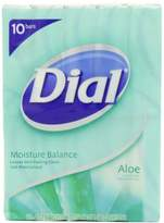 Alöe Dial Antibacterial Deodorant Soap, Aloe, 4-Ounce Bars, 10 Count (Pack of 3)