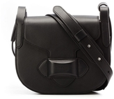 Michael Kors Daria Medium Crossbody Saddle Bag in Black