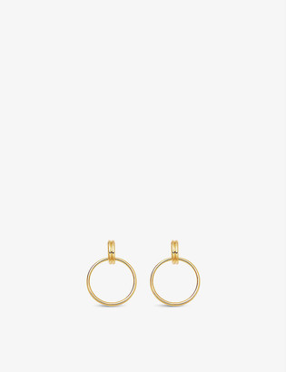 Missoma Ancien Chandelier 18ct yellow gold-plated vermeil hoop earrings