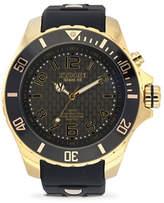 Herschel Kyboe! Power Shade Goldtone Analog Watch
