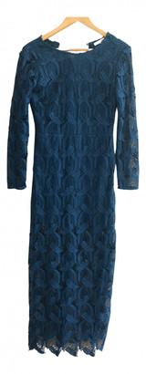 Maje Fall Winter 2019 Blue Lace Dresses
