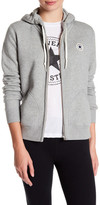 Converse Long Sleeve Cotton Blend Hoodie