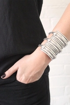 Low Luv by Erin Wasson Snake Hinged Cuff in Silver