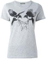 Alexander McQueen bird print T-shirt