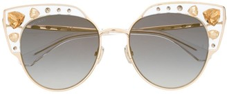 Jimmy Choo Audrey embellished sunglasses