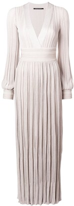 Valenti Antonino pleated long dress