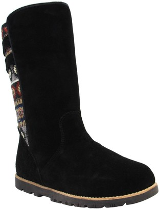 Lamo Suede and Textile Boots - Melanie